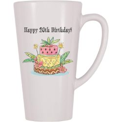 20th birthday coffee mug