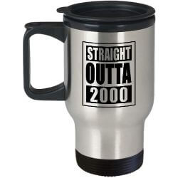 19th birthday travel mug