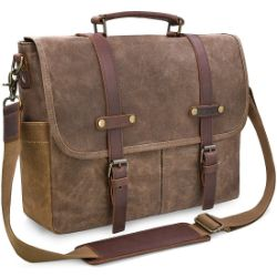Waterproof Waxed Canvas Satchel