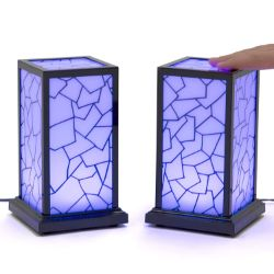 Set of 2 Friendship Lamps