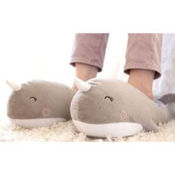 Narwhal Slippers