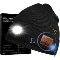 Dolirox Bluetooth Beanie Hat LED Headphone